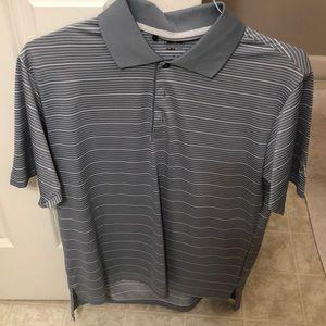 Gray Adidas Polo